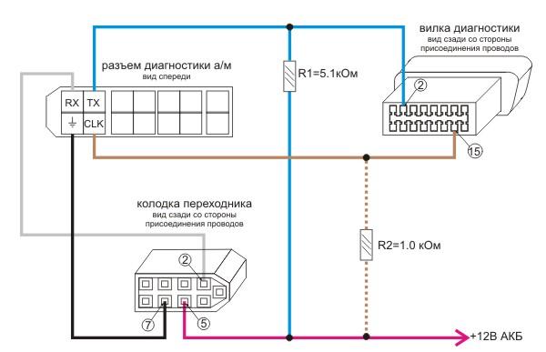схема подключения Consult-1