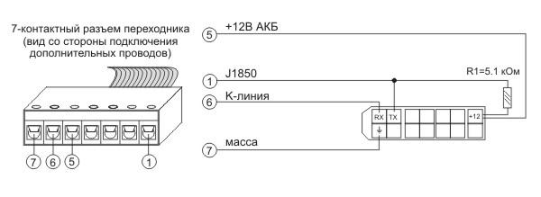 Протокол Consult-1 Nissan - подключение БК Multitronics