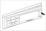 RI-500 - Снятие передней панели